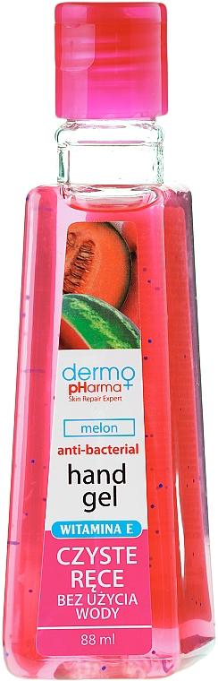 """Antibacterial Hand Gel """"Melon"""" - Dermo Pharma Antibacterial Hand Gel"""