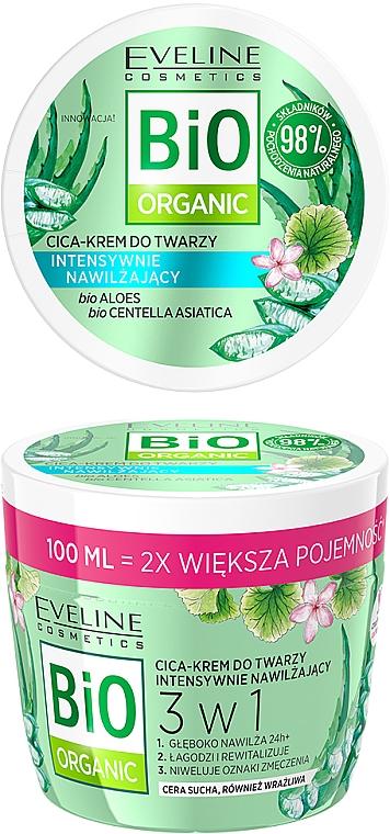 Intensive Moisturizing Face Cream - Eveline Cosmetics Bio Organic Face Cream