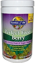 Fragrances, Perfumes, Cosmetics Berry Dietary Supplement with Fruit & Veggie Formula - Garden of Life Perfect Food Berry