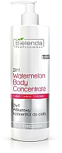 Fragrances, Perfumes, Cosmetics Watermelon Body Concentrate - Bielenda Professional Arbuzowy koncentrat do ciała