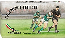 "Fragrances, Perfumes, Cosmetics Natural Soap ""Rugby"" - Florinda Sport & Spezie Natural Soap"