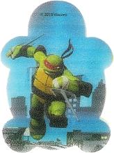 """Fragrances, Perfumes, Cosmetics Kids Bath Sponge """"Teenage Mutant Ninja Turtles"""", Raphael 1 - Suavipiel Turtles Bath Sponge"""