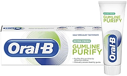 Fragrances, Perfumes, Cosmetics Toothpaste - Oral-B Gumline Purify Extra Fresh Toothpaste