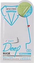 Fragrances, Perfumes, Cosmetics Moisturizing Face Mask - Dewytree Aqua Deep Mask