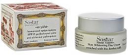 Fragrances, Perfumes, Cosmetics Whitening Day Cream - Sostar Skin Whitening Day Cream SPF15 Enriched With Bio Donkey Milk