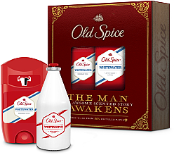 Fragrances, Perfumes, Cosmetics Set - Old Spice Whitewater Vintage (deo/50ml + ash/lot/100ml)