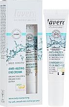 Fragrances, Perfumes, Cosmetics Anti-Wrinkle Eye Contour Cream Q10 - Lavera Basis Sensitiv Anti-Ageing Eye Cream Q10