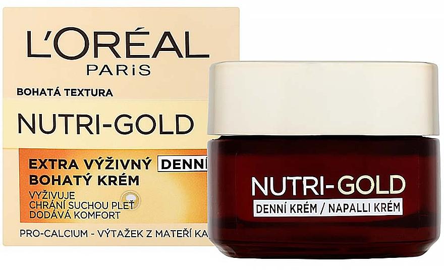Facial Day Care - L'Oreal Paris Dermo-Expertise Nutri Gold — photo N1