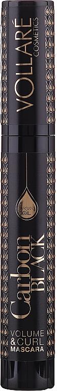 Colume Lash Mascara with Argan Oil - Vollare Cosmetics Carbon Black