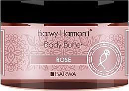 "Fragrances, Perfumes, Cosmetics Body Oil ""Rose"" - Barwa Harmony Body Butter Rose"