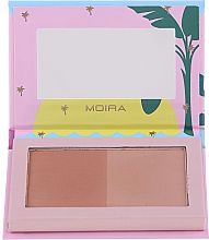 Fragrances, Perfumes, Cosmetics Face Bronzer - Moira Island Queen Bronzed Goddess Duo