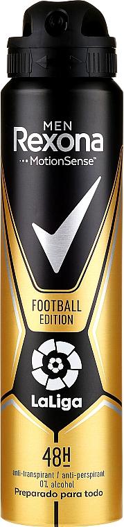 Men Antiperspirant-Deodorant - Rexona Men MotionSense La Liga Football Edition Antiperspirant
