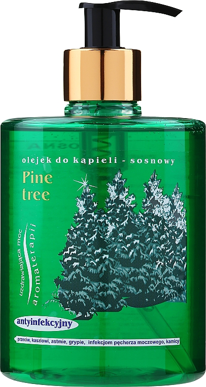 Pine Shower Gel with Dispenser - Jadwiga Shower Gel — photo N1