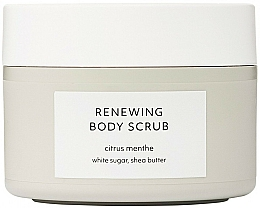 Fragrances, Perfumes, Cosmetics Renewing Body Scrub - Estelle & Thild Citrus Menthe Renewing Body Scrub