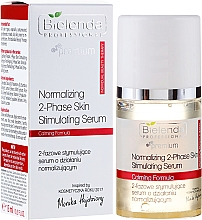 Fragrances, Perfumes, Cosmetics Stimulating Two-Phase Serum with Normalizing Effect - Bielenda Professional Individual Beauty Therapy Normalizing 2-Phase Skin Stimulating Serum