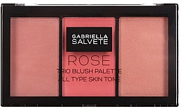 Fragrances, Perfumes, Cosmetics Blush Palette - Gabriella Salvete Rose Trio Blush Palette