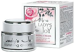 Fragrances, Perfumes, Cosmetics Nourishing Cream - Bulgarian Rose Lady's Joy Nourishing Face Cream