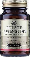 "Fragrances, Perfumes, Cosmetics Dietary Supplement ""Folic Acid"" (Metafolin 400mcg) - Solgar"