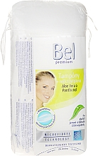 Fragrances, Perfumes, Cosmetics Cosmetic Cotton Pads, oval - Bel Premium Oval Pads with Aloe Vera