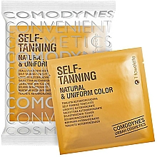 Fragrances, Perfumes, Cosmetics Self-Tanning Wipe for All Skin Types - Comodynes Self-Tanning Natural & Uniform Color