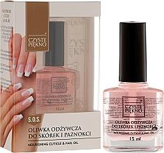 Fragrances, Perfumes, Cosmetics Nail & Cuticle Oil - Czyste Piękno Nourising Cuticle & Nail Oil