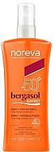 Fragrances, Perfumes, Cosmetics Sun Spray - Noreva Bergasol Expert Spray Invisible Finish SPF50+