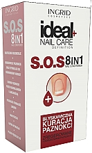 Fragrances, Perfumes, Cosmetics Nail Strengthening Conditioner 8 in 1 - Ingrid Cosmetics Ideal Nail Care Definition SOS 8 in 1
