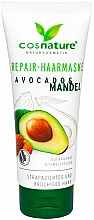 Fragrances, Perfumes, Cosmetics Repair Almond & Avocado Hair Mask - Cosnature Hair Repair Mask Almond & Avocado