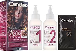 Fragrances, Perfumes, Cosmetics Perm Care for All Hair Types - Delia Cameleo Herbal Wave
