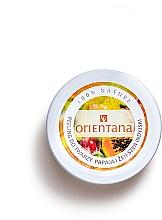 "Fragrances, Perfumes, Cosmetics Cream Face Peeling ""Papaya"" - Orientana Natural Cream Face Scrub Papaya"