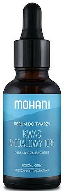 Smoothing Face Serum with Mandelic Acid 10% - Mohani Smoothing Facial Serum With Mandelic Acid 10% — photo N1