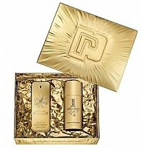 Fragrances, Perfumes, Cosmetics Paco Rabanne 1 Million - Set (edp/100ml + deo/150ml)