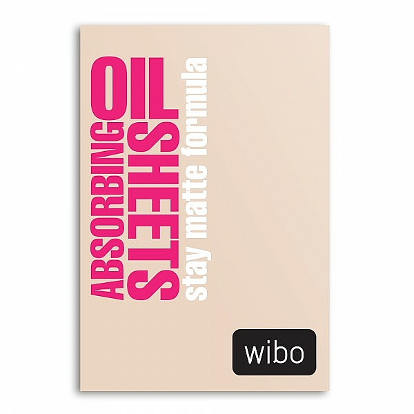Oil Absorbing Sheets - Wibo Oil Absorbing Sheets