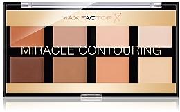 Fragrances, Perfumes, Cosmetics Contour Palette - Max Factor Miracle Contouring Palette