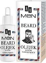 Fragrances, Perfumes, Cosmetics Moisturizing Beard Oil - AA Men Beard Oil