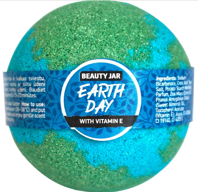 Bath Bomb - Beauty Jar Earth Day
