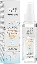Fragrances, Perfumes, Cosmetics Facial Mist - Avon True Nutra Effect Hydrate & Protect Facial Mist