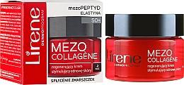 Fragrances, Perfumes, Cosmetics Night Restorative Face Cream - Lirene Mezo Collagene
