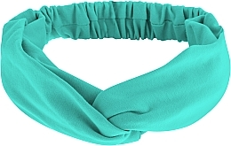 "Fragrances, Perfumes, Cosmetics Headband, Knit Cross, mint, ""Knit Twist"" - MakeUp Hair Accessories"
