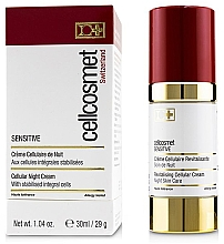 Fragrances, Perfumes, Cosmetics Night Cellular Cream for Sensitive Skin - Cellcosmet Sensitive Night Cream
