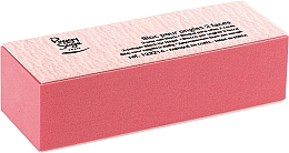 Fragrances, Perfumes, Cosmetics Double-Sided Nail Buffer, pink - Peggy Sage 2-Way Nail Block