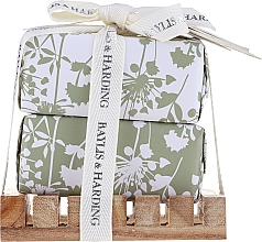 Fragrances, Perfumes, Cosmetics Set - Baylis & Harding Urban Barn Lime, Basil & Mint (soap/2x200g + acc)