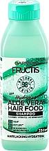 Fragrances, Perfumes, Cosmetics Hydrating Shampoo for Normal & Dry Hair - Garnier Fructis Aloe Vera Hair Food Shampoo