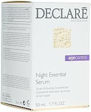 Fragrances, Perfumes, Cosmetics Night Repair Facial Serum - Declare Age Control Night Repair Essential Serum