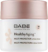 Fragrances, Perfumes, Cosmetics Multi Protector DMAE Lifting Cream SPF 30 - Babe Laboratorios Healthy Aging Multi Protector Lifting Cream