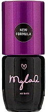 Fragrances, Perfumes, Cosmetics Gel Polish Base Coat - MylaQ My Base