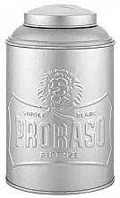 Fragrances, Perfumes, Cosmetics Talc & Powder Dispenser - Proraso Tin Box