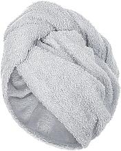 Fragrances, Perfumes, Cosmetics Hair Drying Turban, grey - MakeUp
