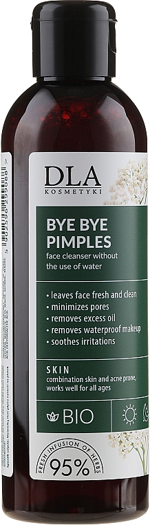 Face Cleanser (without use of water) - DLA