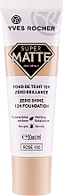 Fragrances, Perfumes, Cosmetics Long-Lasting Matte Foundation - Yves Rocher Zero Shine 12H Foundation